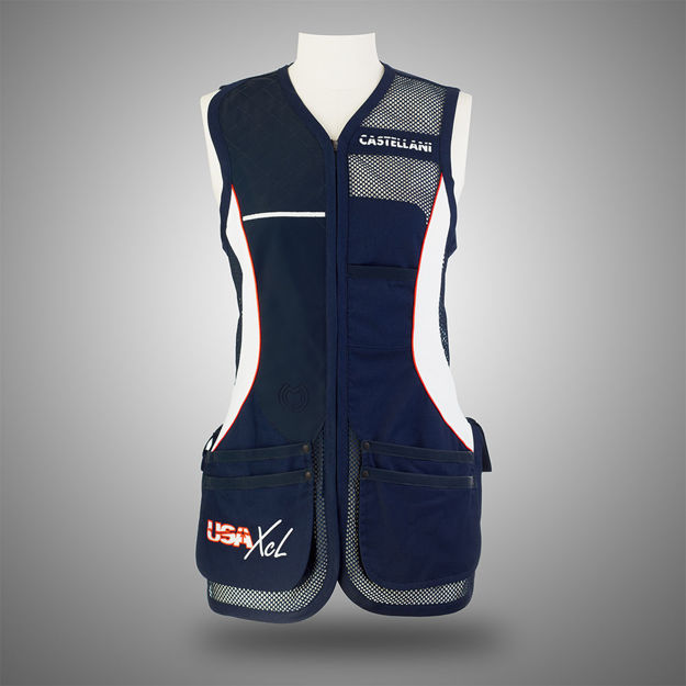 Picture of CASTELLANI WOMENS USA/XCL MESH VEST 634-314